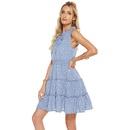 new fashion polka dot printing waist belt pendant vest dress NHJG335038