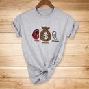 talk money listen printed Tshirt NHZN335032