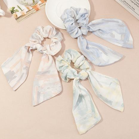 Corée Impression de chouchous de cheveux de ruban NHAU335078's discount tags
