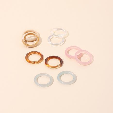 anillo de resina simple al por mayor NHRN335089's discount tags