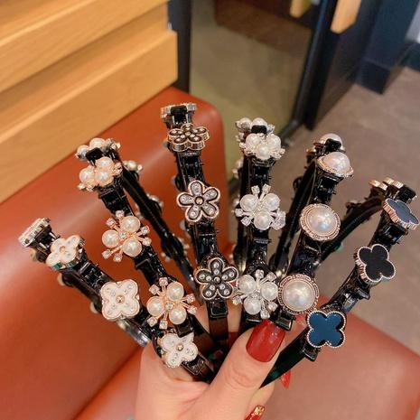 bandeau de résine de perles de fleur de mode NHCQ335100's discount tags