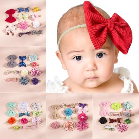 Kinder Nylon Bogen Stirnband Set NHWO335105's discount tags