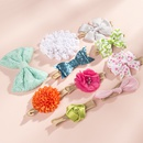 childrens nylon bow headband set NHWO335105