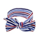 Childrens National Day Ears Star Stripes Knotted headband NHWO335115