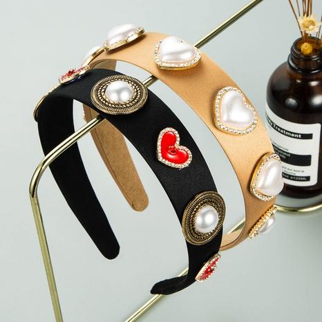bandeau coeur imitation perle strass NHLN335124's discount tags