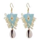 Bohemian resin beads tassel earrings wholesale NHJJ335129