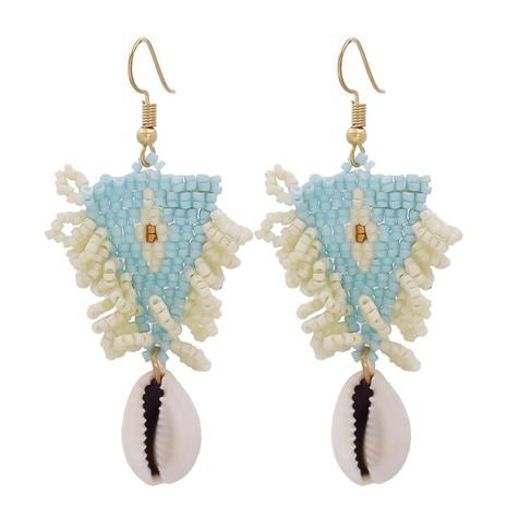 Boucles d'oreilles pompon perles de résine bohème en gros NHJJ335129's discount tags