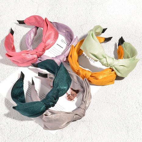 bandeau rétro en tissu à nœuds NHAQ335164's discount tags