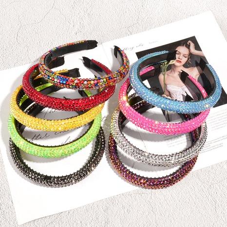 bandeau en éponge de diamant coloré baroque NHAQ335167's discount tags