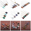 Fashion crystal necklace accessories boxed wholesale NHYL335388