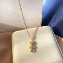 Fashion Bear Alloy Necklace Wholesale NHBY335470