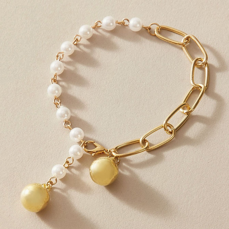 New Simple Pearl Anklet  NHGY335798