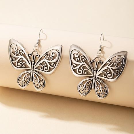 neue Mode Retro hohle Schmetterlingsohrringe NHGY335797's discount tags