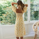 new shortsleeved small daisy dress NHKO335772