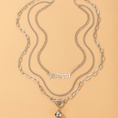 Simple Chain Bell Pendant Necklace NHGY336204