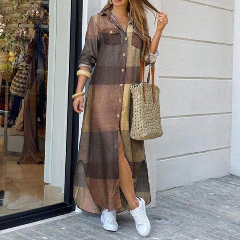Fashion long sleeve dress NHJC335618