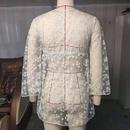fashion flower blouse bikini NHZO335639