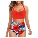 fashion high waist split swimsuit wholesale NHHL335715