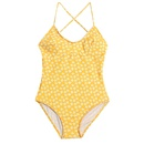 Fashion lace woven printed backless multirope onepiece swimsuit NHHL335719