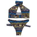fashion striped doublesided bikini NHHL335734