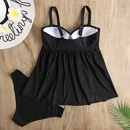 fashion solid color skirt split swimsuit  NHHL335741
