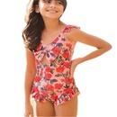 maillot de bain une pice enfant taille haute imprim NHHL335749