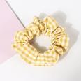 NHAMD1554640-Small-Checkered-Hair-Tie-Yellow
