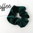 NHAMD1554667-Pure-Color-Flannel-Hair-Tie-Dark-Green