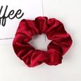 NHAMD1554669-Pure-Color-Flannel-Hair-Tie-Burgundy