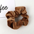 NHAMD1554671-Pure-Color-Flannel-Hair-Tie-Coffee
