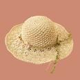 NHAMD1554850-Pink-Flower-Vine-Straw-Hat-Beige-M-(56-58cm)