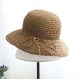 NHAMD1554821-Handmade-Flat-Straw-Hat-Khaki-Adult-(56-58)