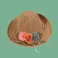 NHAMD1554875-Green-Leaf-Vine-Three-Flowers-Khaki-M-(56-58cm)