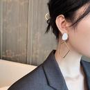 Korean geometric fashion exaggerated earrings NHGY336181