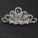 Fashion Rhinestone Crown Hair Accessories NHAU335857