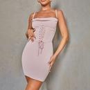 Fashion oneline neck halter dress wholesale NHAG335928