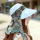 Fashion antiultraviolet foldable zipper sunscreen empty top hat NHAMD335932