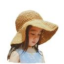 Fashion handmade bow sunscreen straw hat wholesale NHAMD335933
