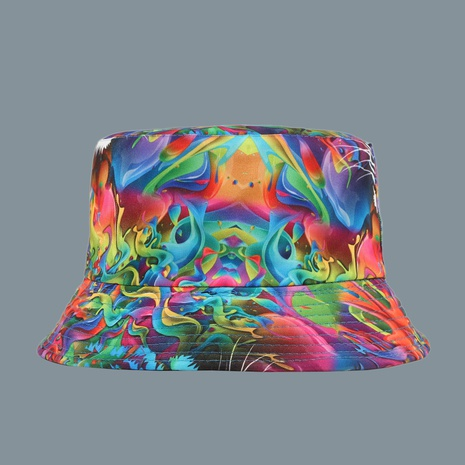 Fashion printing sunscreen fisherman hat NHAMD335946's discount tags