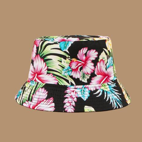 Sombrero de pescador con protector solar rosa coreano al por mayor NHAMD335948's discount tags