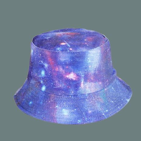 Sombrero de pescador con sombrilla de ala ancha de cielo estrellado coreano NHAMD335953's discount tags