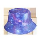 Chapeau de pcheur coren ciel toil  large bord NHAMD335953