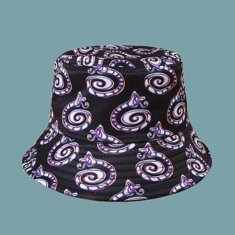 Sombrero de pescador de sombrilla de serpiente del zodiaco de moda NHAMD335961's discount tags