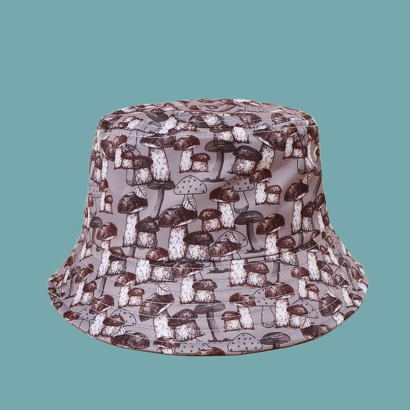 Fashion mushroom sunscreen sunshade fisherman hat NHAMD335964