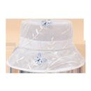 Fashion butterfly net yarn breathable sunshade fisherman hat NHTQ335976