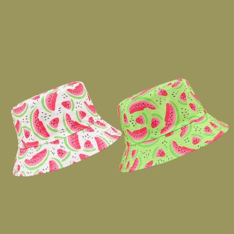 Fashion watermelon wide-brimmed sun-proof sunshade fisherman hat NHTQ335977's discount tags