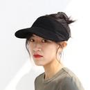 Summer sunshade empty top sun hat  NHALD335984