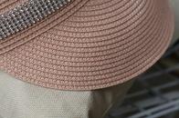 Fashion ribbon bow empty top straw hat NHALD335998