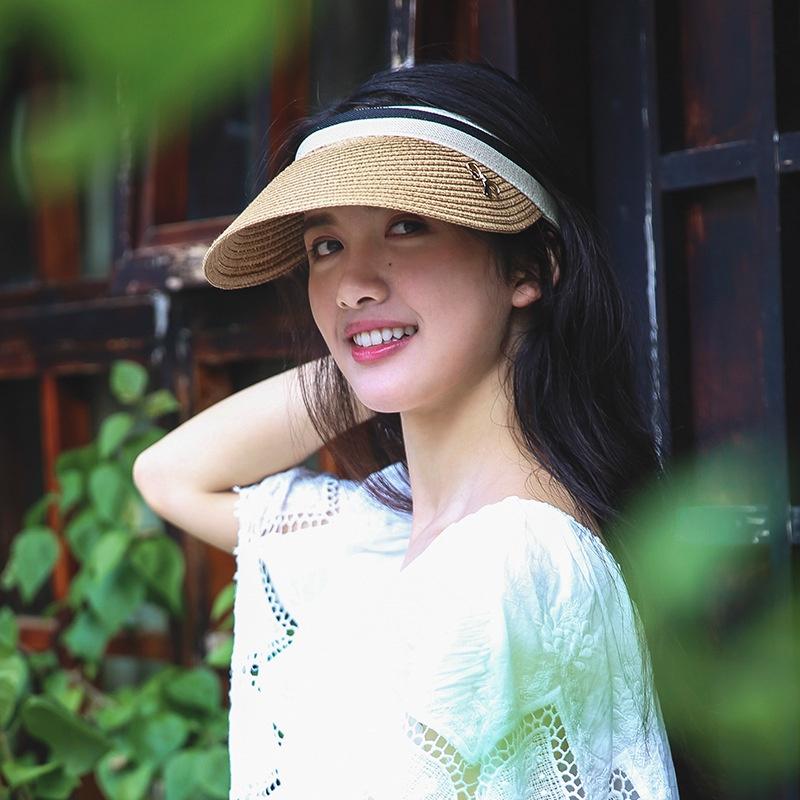 Leerer oberer Strohhut des koreanischen SonnenschutzSonnenschutzes NHALD336002