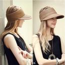 Fashion empty top sunscreen big brim straw hat NHALD336010